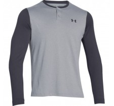 Pánske tričko Under Armour Lightest Warmest CGI Henley