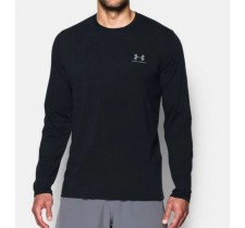 Pánske tričko Under Armour Chest Logo Long-Sleeve T-Shirt