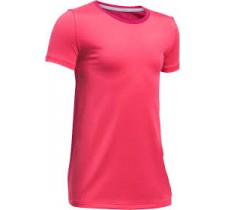 Dievčenské tričko Under Armour Short Sleeve Junior